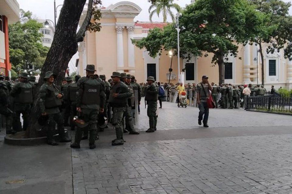 Este #15Ene sesionará al AN de Juan Guaidó y caracas esta militarizada