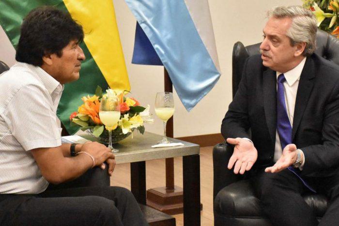 Presidente de Argentina avala viaje de Evo Morales a Cuba