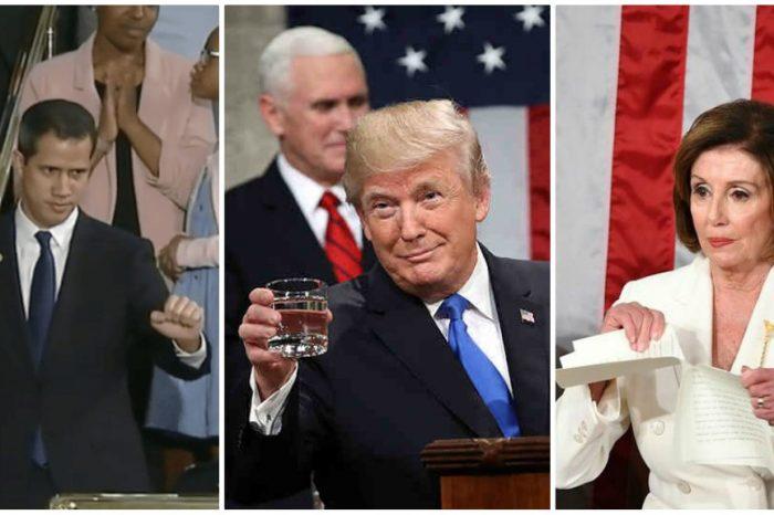 Cinco frases contundentes de Trump en el discurso sobre el Estado de la Unión