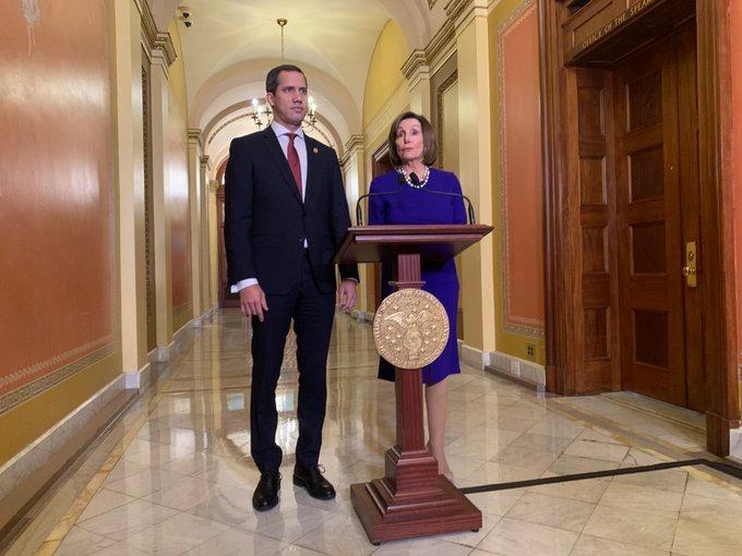 Juan Guaidó y Nancy Pelosi unen fuerzas para luchar contra Maduro   En Fotos
