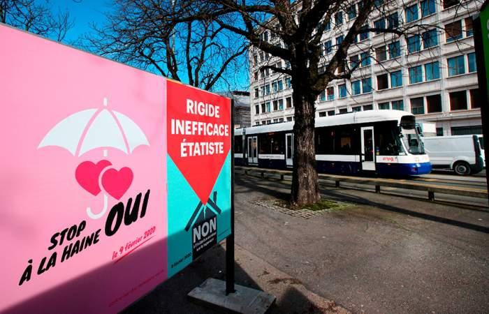 Suiza hace historia y aprueba ley contra la homofobia
