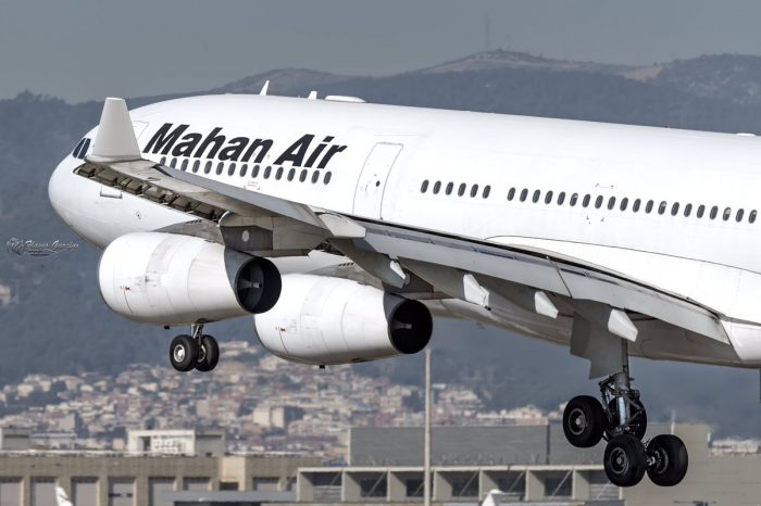 Irán pide a pasajeros de Mahan Air que demanden a EE.UU.