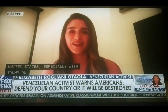 Tumbar estatuas es comunismo, advierte venezolana en EE.UU. y los medios escuchan