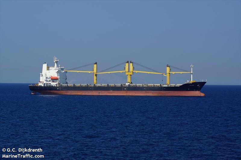 un buque con alimentos iranies para Caracas - primer informe
