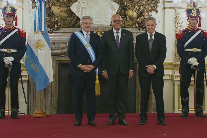 Argentina retira las acusaciones contra el régimen de Maduro de la Corte Penal Internacional