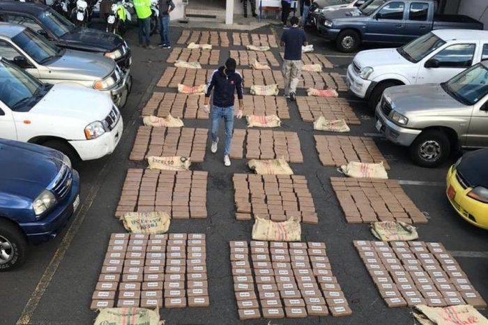Incautan más de una tonelada de cocaína en Ecuador con destino a Centroamérica y EE.UU.