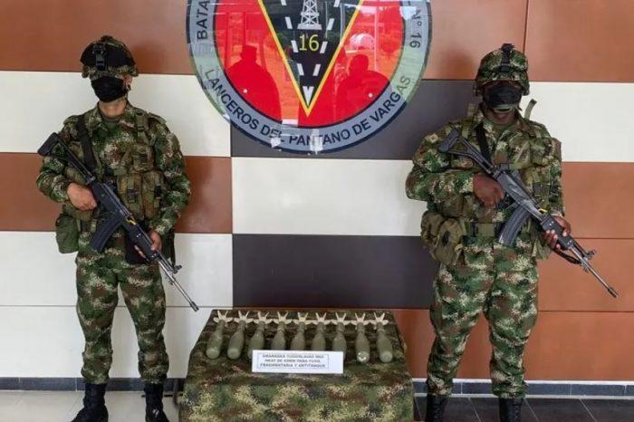 Ejército colombiano confirma que granadas incautadas a disidentes son de Guardia Nacional de Venezuela