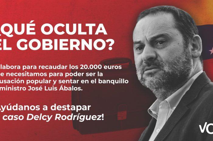 En tiempo récord Vox recaudó 20 mil euros  solicitados por la justicia española para activar el Delcygate