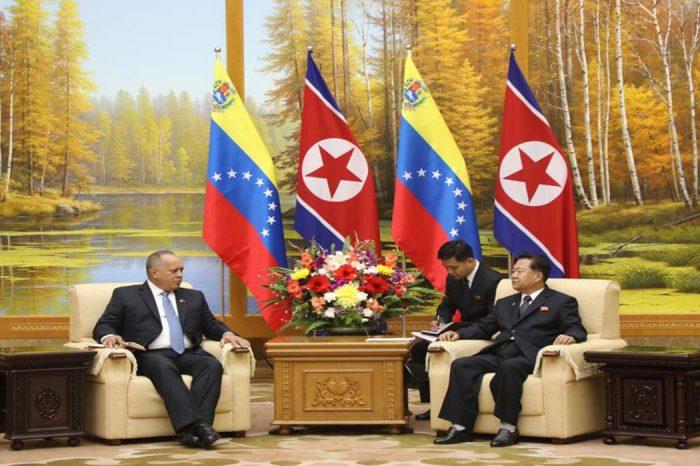 Naciones Unidas investiga a Diosdado Cabello por acuerdos con Corea del Norte