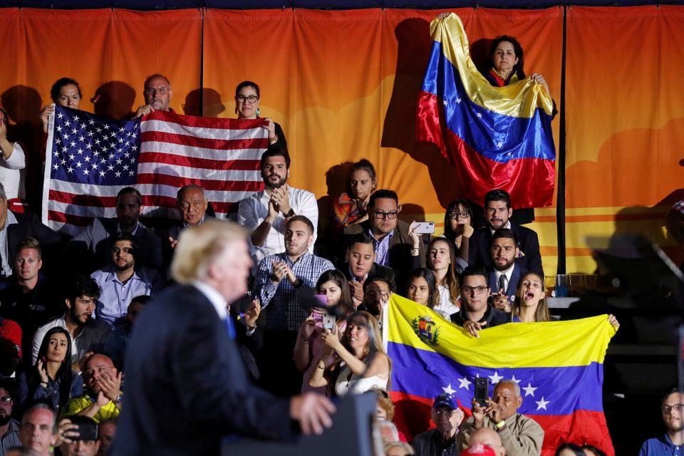 """Trump, directo: """"Siempre estaremos contra el socialismo"""""""