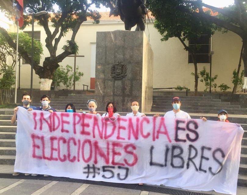 Este fue el mensaje de la sociedad a Maduro el día de la Independencia de Venezuela