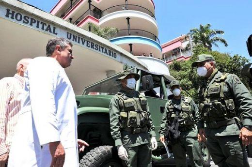 """En Venezuela """"investigarán"""" a los militares que se contagien de coronavirus"""