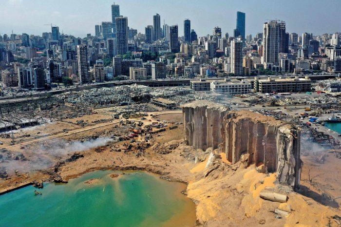 Sustancia química usada en actos terroristas fue el causante de la mega explosión en Beirut