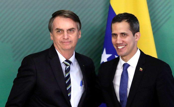 La ofensiva de Bolsonaro contra Maduro