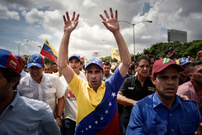 ANÁLISIS   La 'Operación Capriles' y el cuarteto de financistas