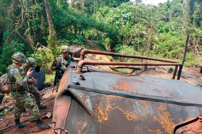 ELN ve su estructura debilitarse cada día en Colombia