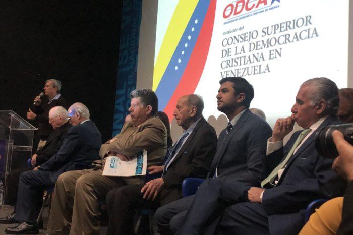 Organización Demócrata Cristiana de EEUU pide intervención en Venezuela