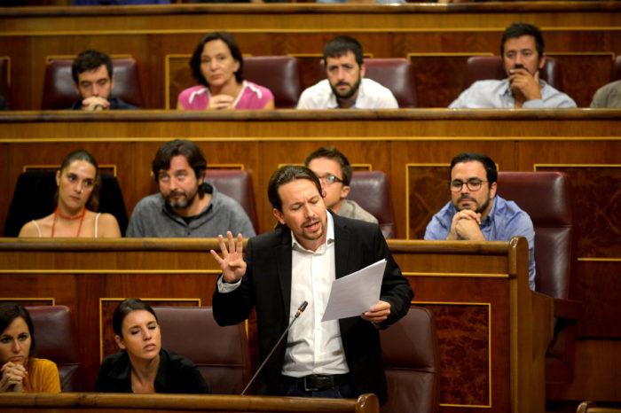 Partido de Pablo Iglesias se opone a liberación de presos políticos en Venezuela