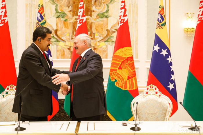 Maduro defiende a Lukashenko en la ONU