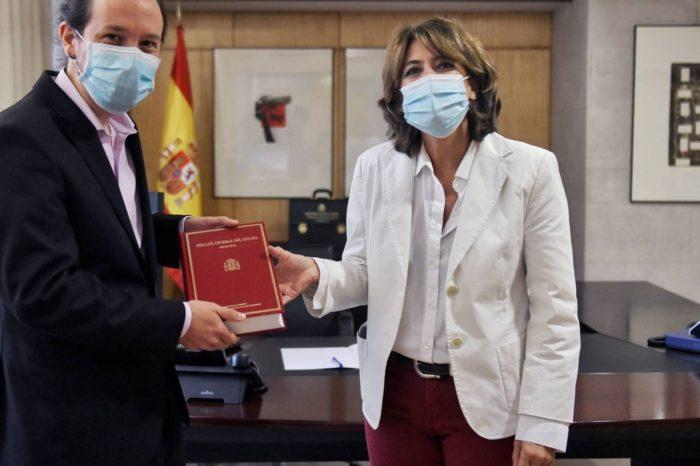 Fiscalía española sigue tapando casos de corrupción de Podemos