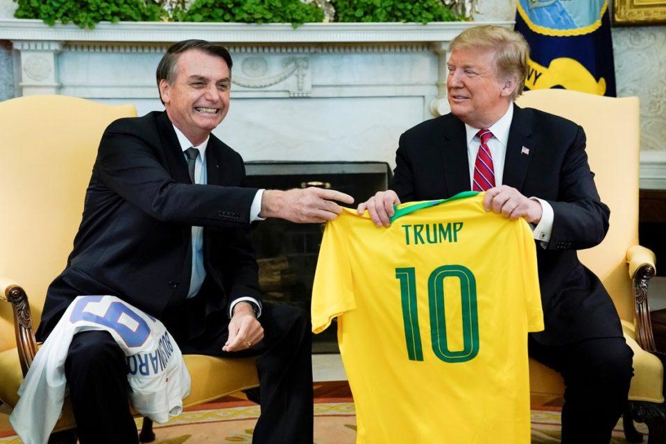Bolsonaro se autoinvita a la próxima toma de posesión de Trump