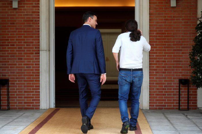 En España se desploma la popularidad del partido chavista Podemos