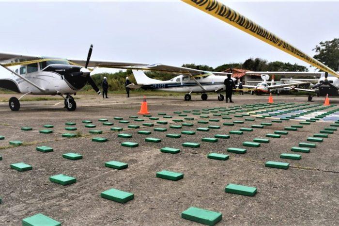 DEA organiza operación conjunta en Centroamérica contra el narcotráfico suramericano