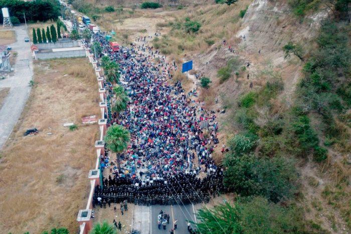 ANÁLISIS: El efecto de las caravanas de migrantes