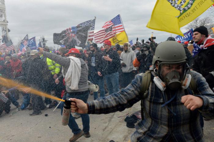 ¿Estuvo la protesta en el Capitolio infiltrada por Antifa?