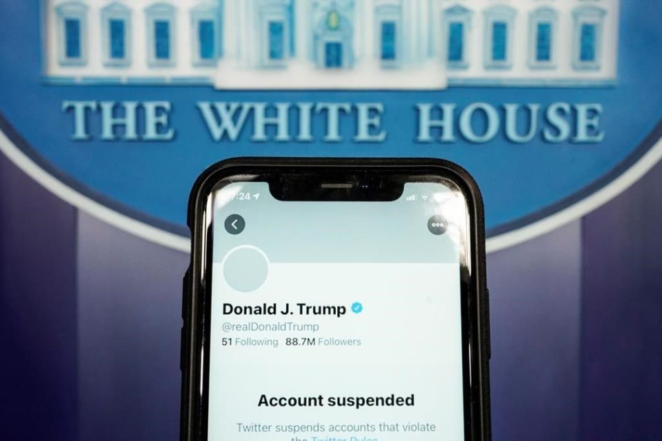 censura tecnológica a Trump - Primer Informe