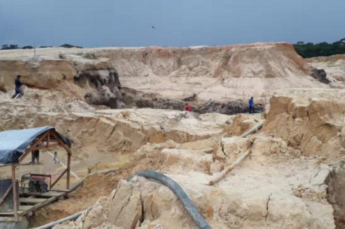 Impactante video muestra la depredación causada por la minería del oro en Venezuela