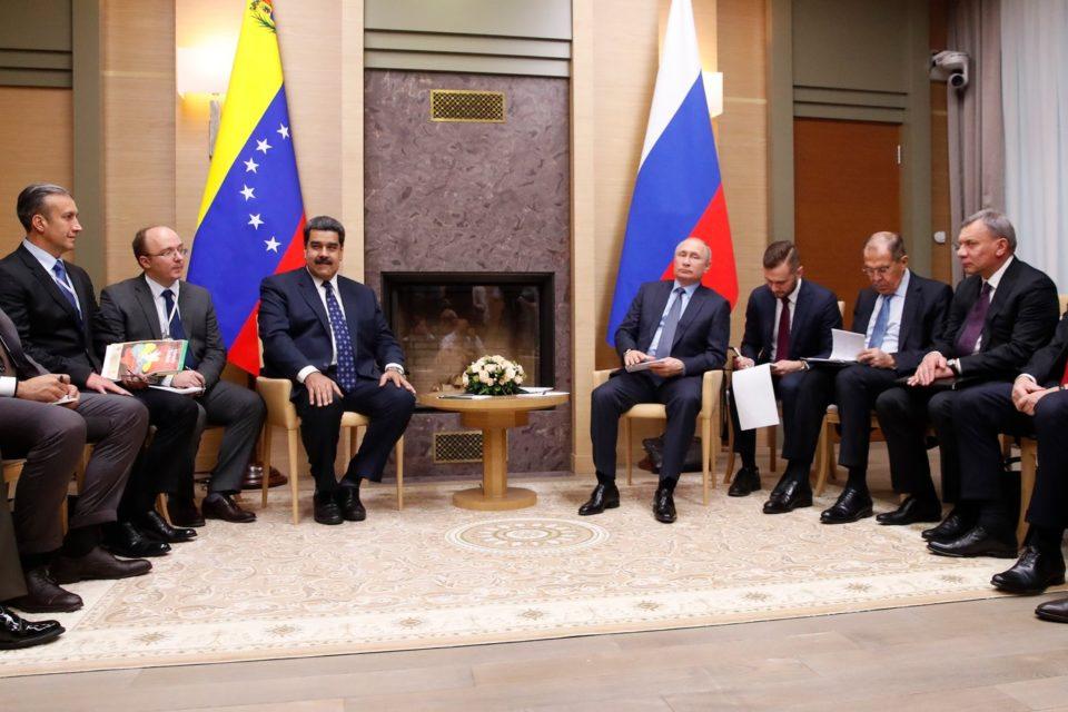 Vladimir Putin saca provecho de la crisis en Venezuela - Primer Informe