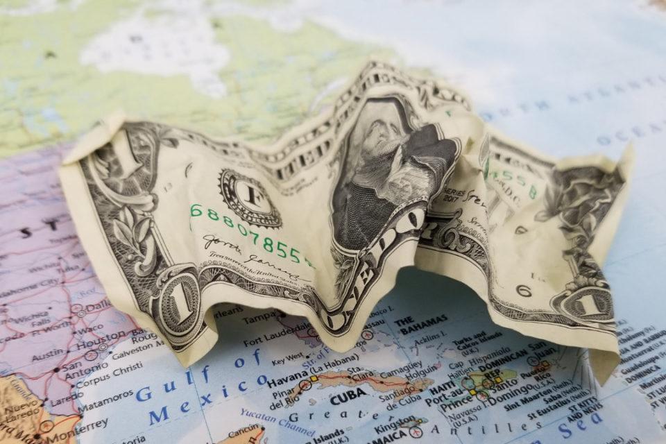 mercado negro de dólares en Cuba - primer Informe