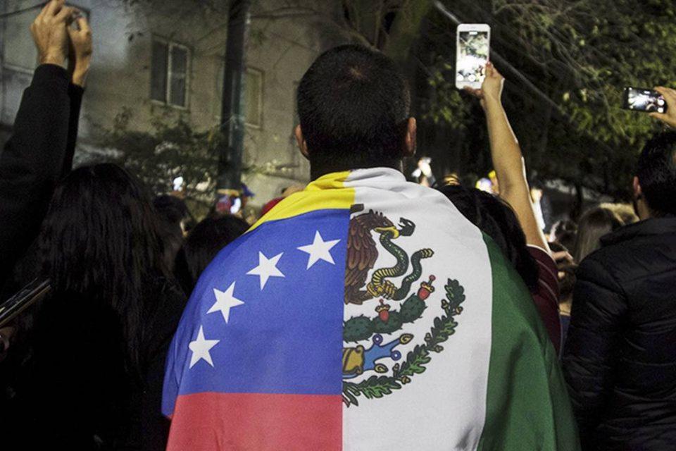 migración venezolana en méxico - primer informe