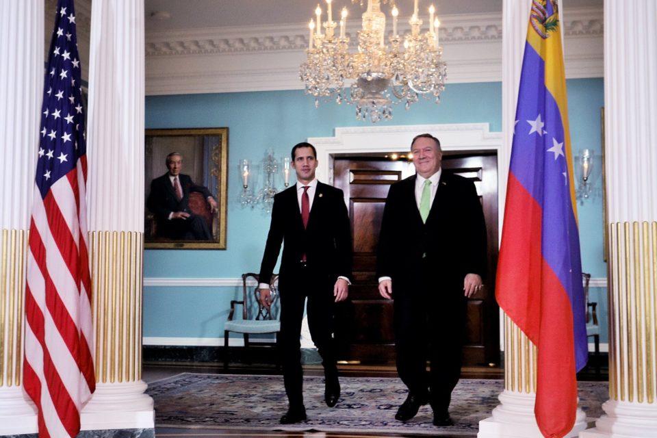 la última llamada de Mike Pompeo a Juan Guaidó