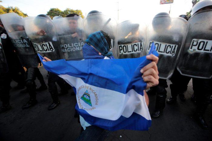 violencia política contra opositores en Nicaragua - primer informe