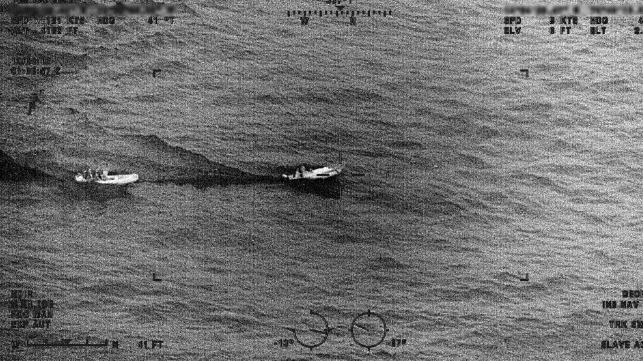 USCG en el mar caribe - primer informe