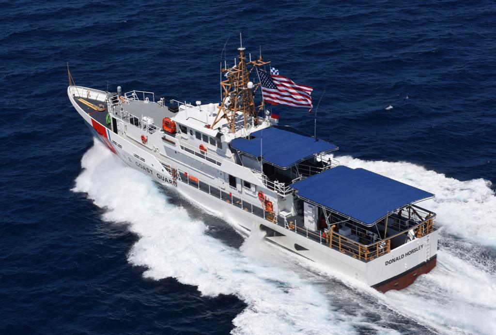 Horsley en el Mar Caribe - Primer Informe