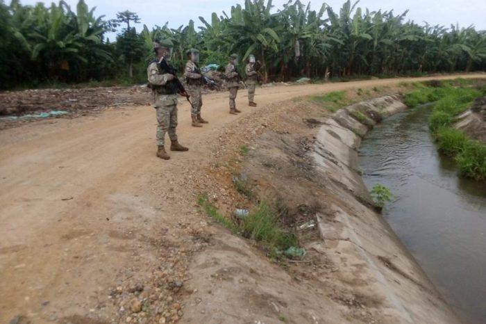 militarización de las fronteras