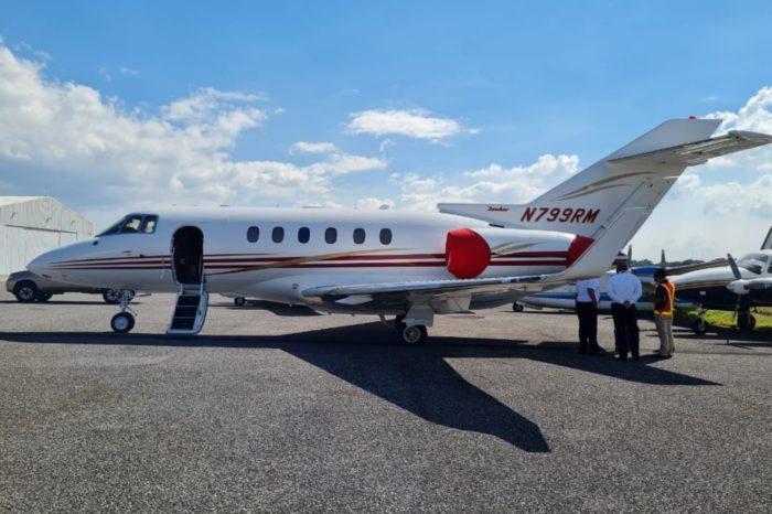 Decomisaron el avión privado del expresidente panameño Ricardo Martinelli