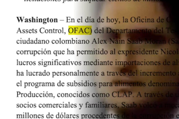 El último pronunciamiento de EEUU sobre Alex Saab, hunde más al testaferro chavista