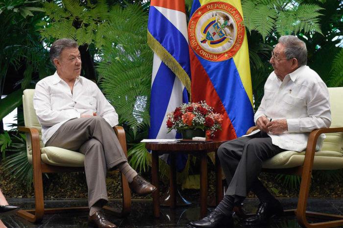 Santos intercede por el régimen que protege a sus camaradas de las FARC y del ELN