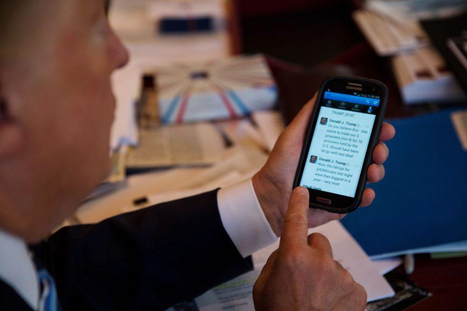 Trump aburrido de Twitter considera abrir su propia plataforma - Primer Informe