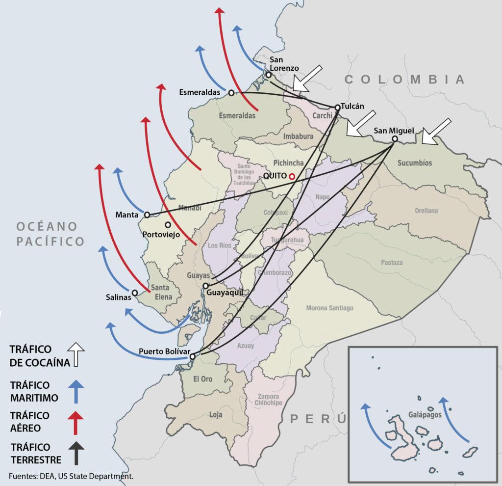 correismo y drogas en ecuador - primer informe