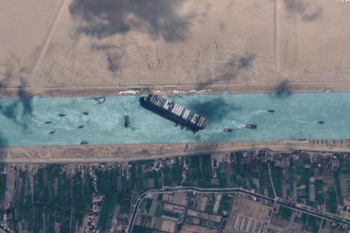 Así fue como China y Rusia se beneficiaron del atasco en el Canal de Suez
