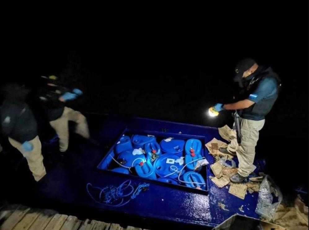 700 kilos de cocaína incautados en Honduras a 4 venezolanos y 1 colombiano - primer informe