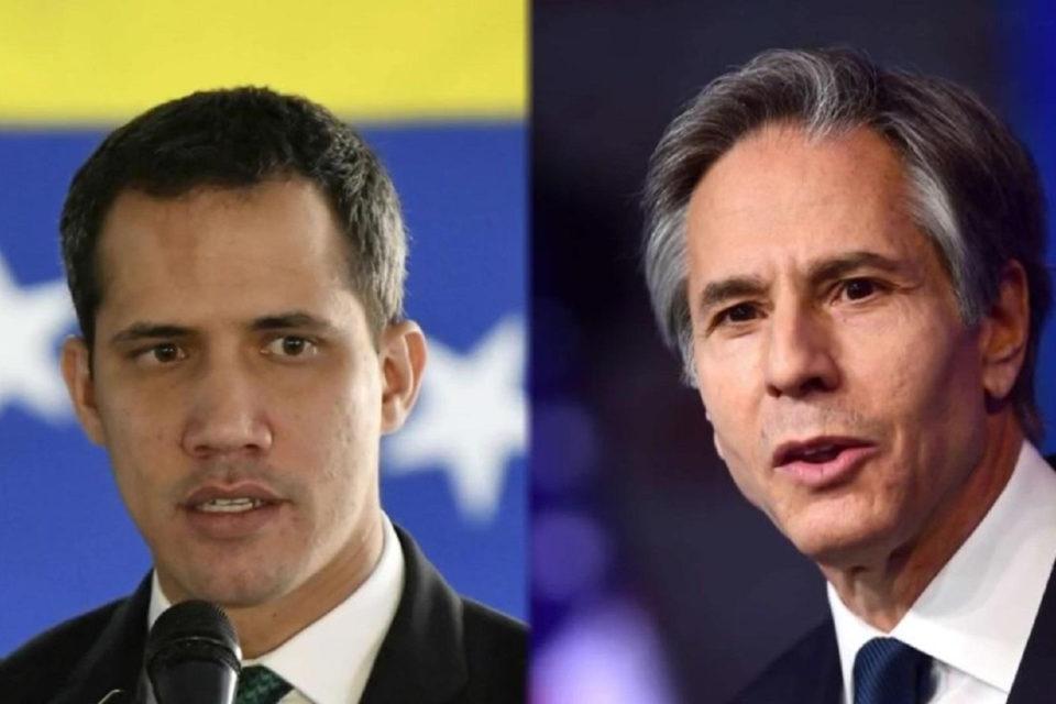 Antony Blinken y Juan Guaidó - Primer Informe