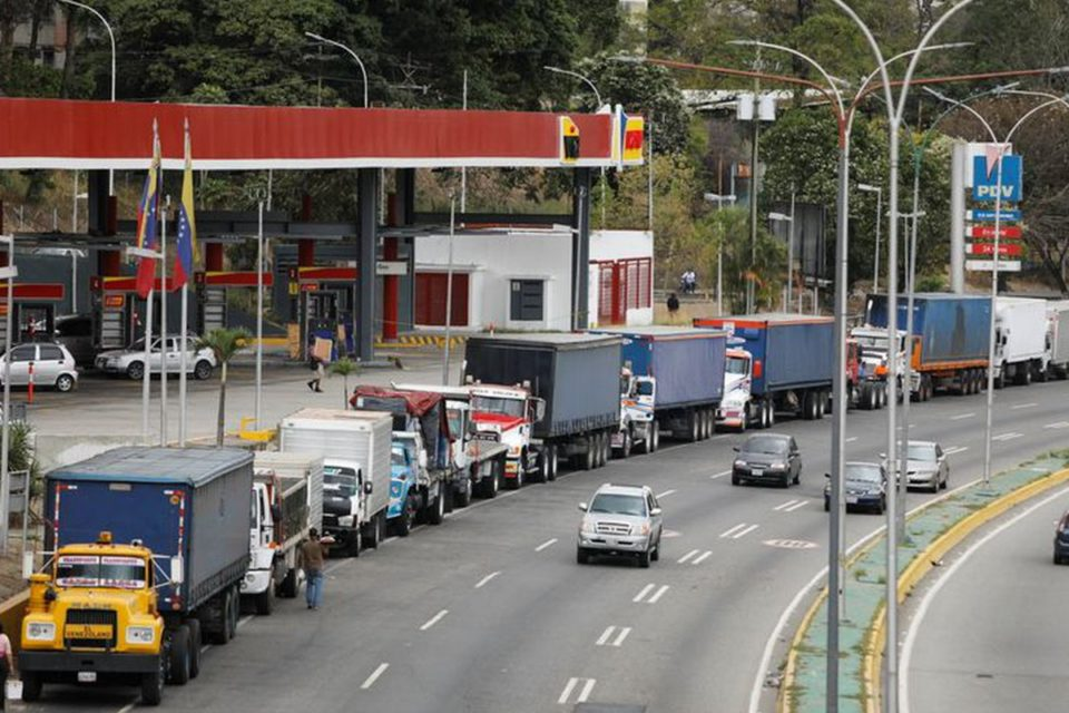 grave escasez de diesel en Venezuela - Primer Informe