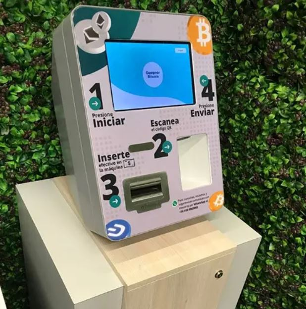 cajeros automáticos de bitcoin - primer informe
