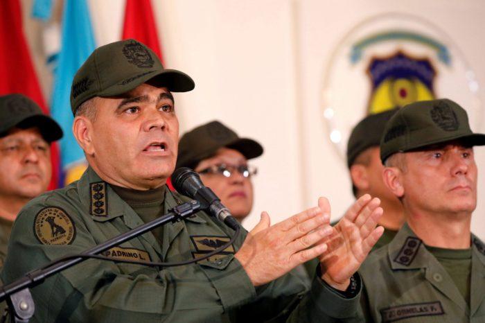 Las insólitas explicaciones del ministro de Defensa chavista sobre Apure